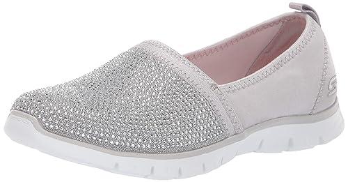 Skechers Ez Flex Renew-Shimmer Show, Zapatillas sin Cordones para Mujer: Amazon.es: Zapatos y complementos