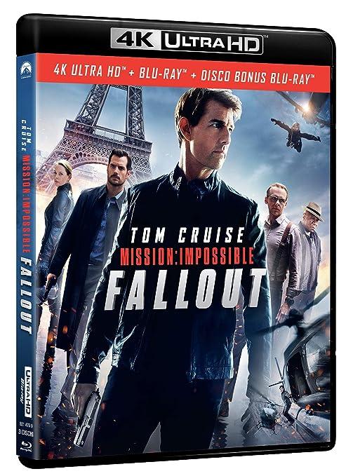 Mission Impossible - Fallout Blu-Ray 4K Ultra HD+Blu-Ray Italia ...