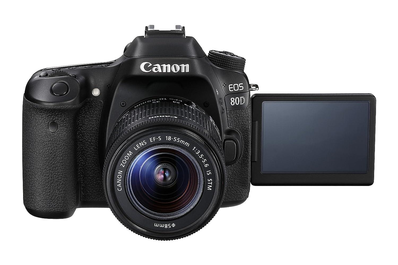 Camera Cheapest Dslr Camera Uk amazon co uk digital slrs electronics photo canon eos 80d slr camera with 18 55 mm is stm lens