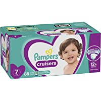 88 Count Pampers Cruisers Disposable Baby Size 7 Diapers