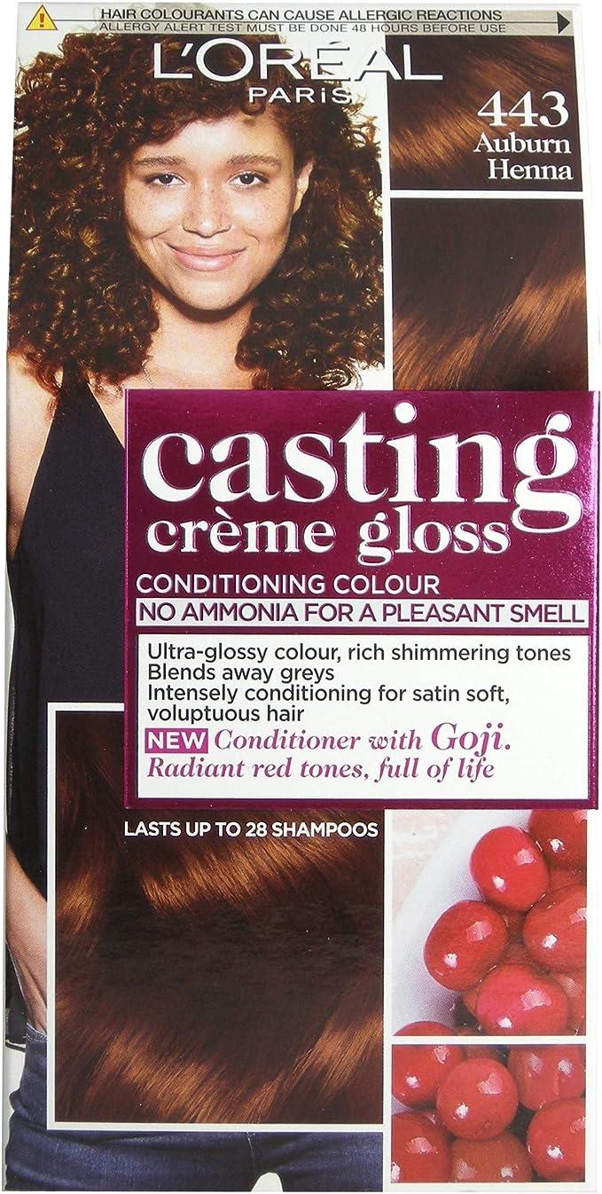 Loreal Casting creme gloss 443 Auburn Henna
