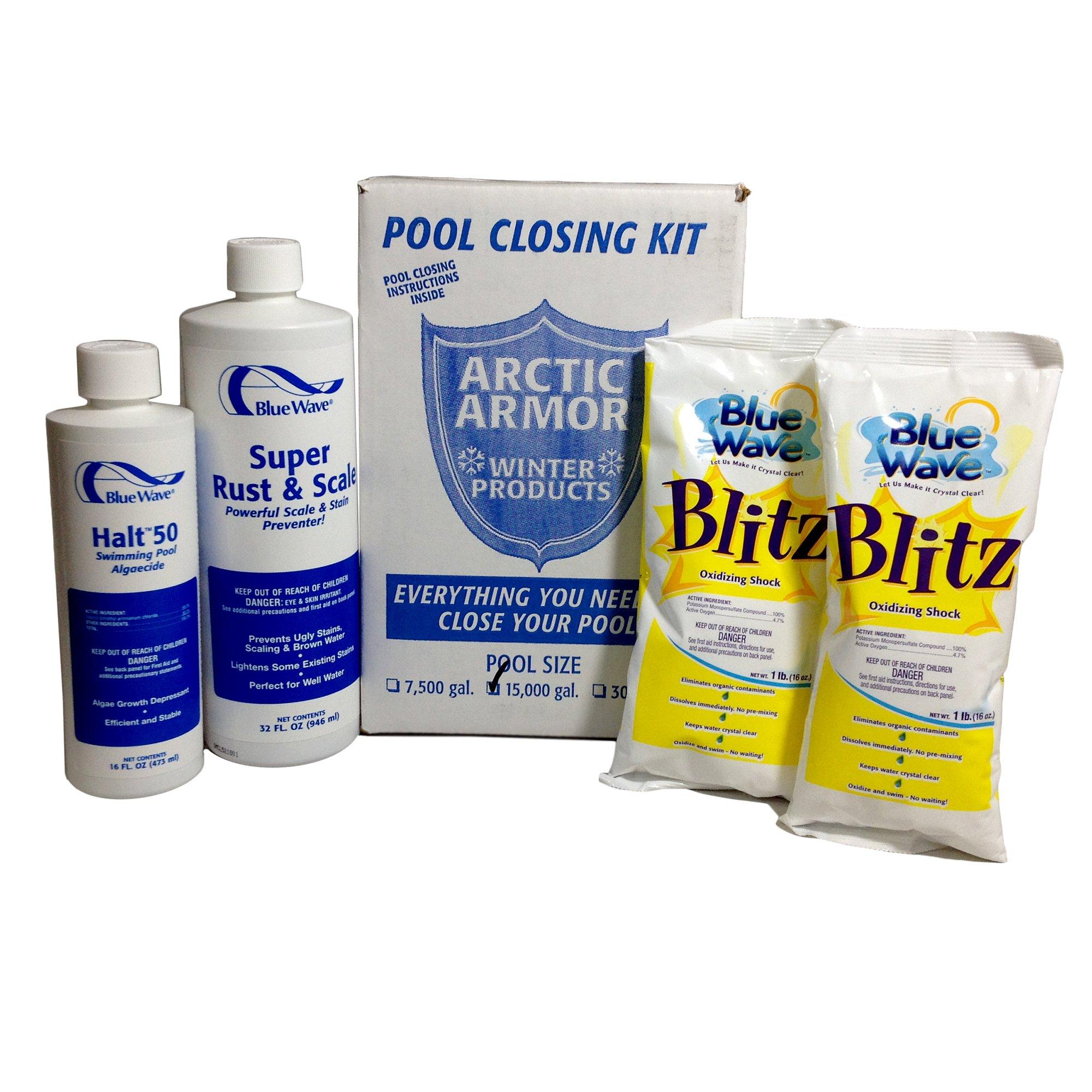 Blue Wave NY934 Medium Chlorine Free Pool Winterizing Kit