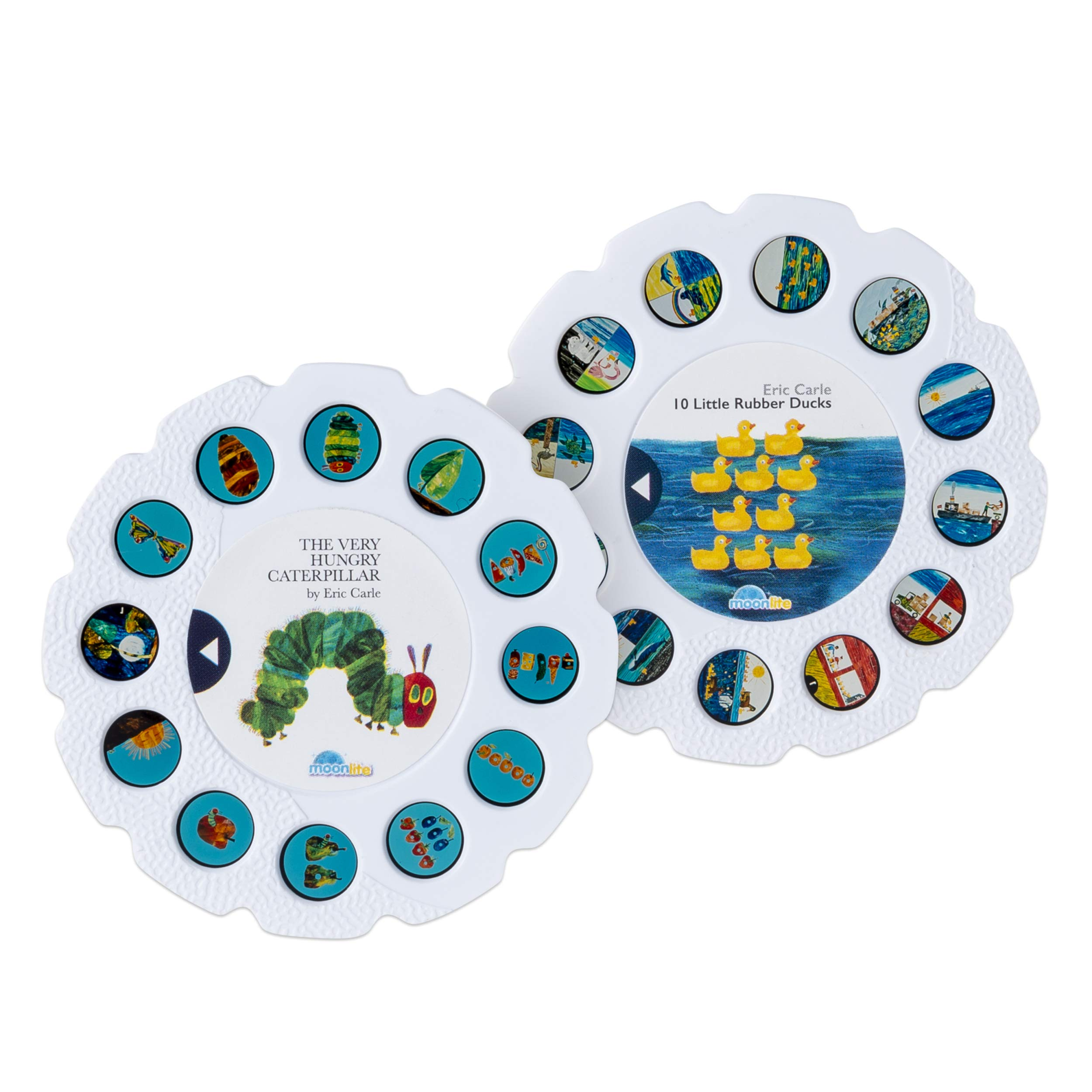 Moonlite - Eric Carle Junior Starter Pack, Storybook Projector for Smartphones with 2 Story Reels, For Ages 1 and Up by Moonlite (Image #8)
