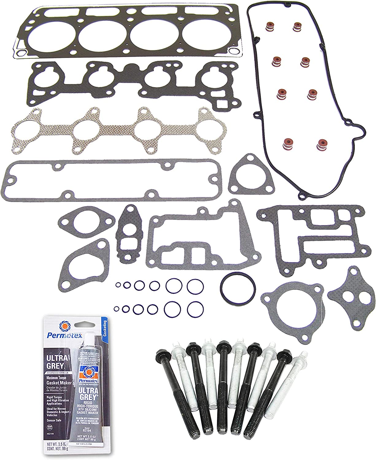 Head Gasket Sets ECCPP Replacement for Head Gasket Bolts Set for ...