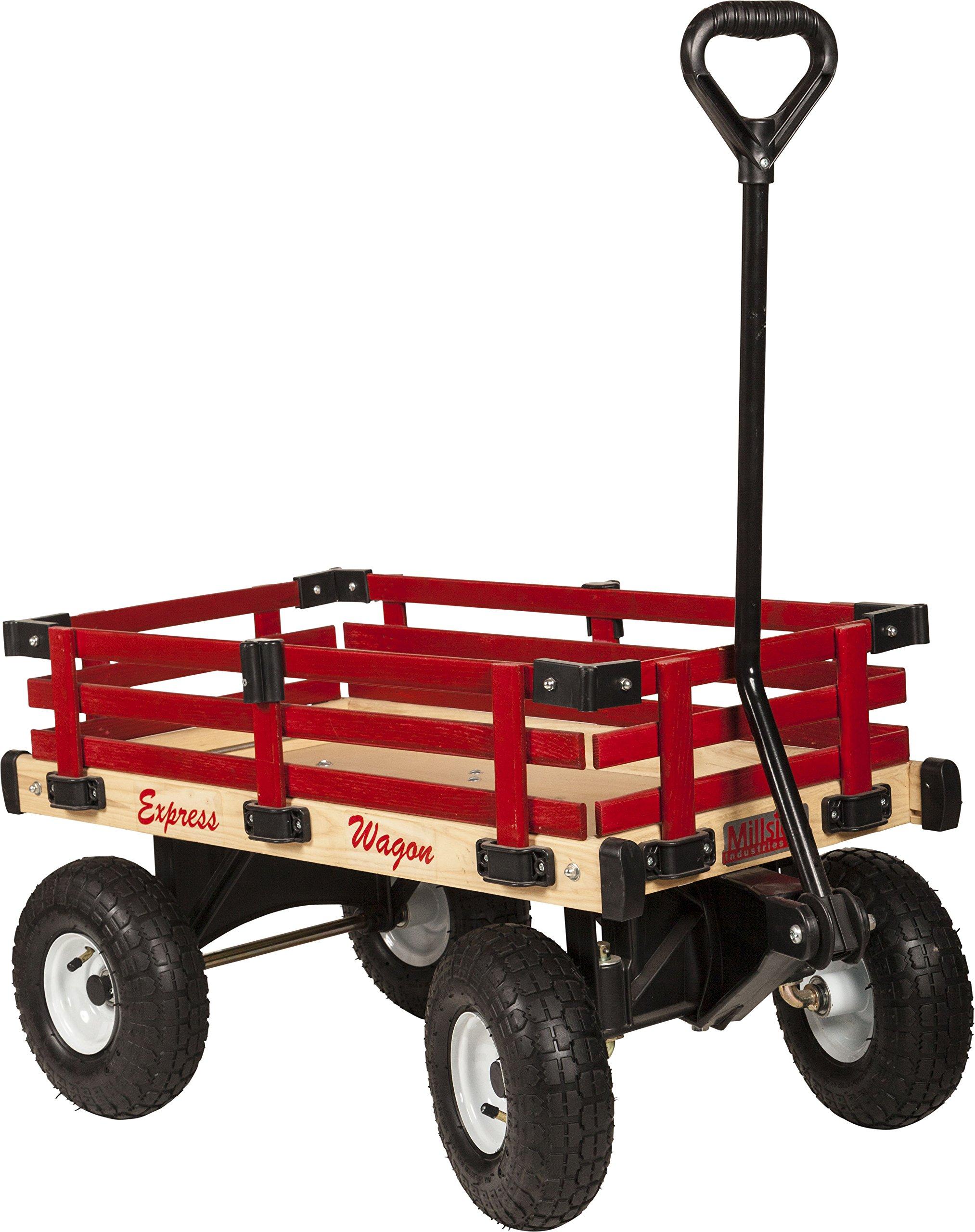 16'' X 34'' Millside Industries Wooden Express Wagon