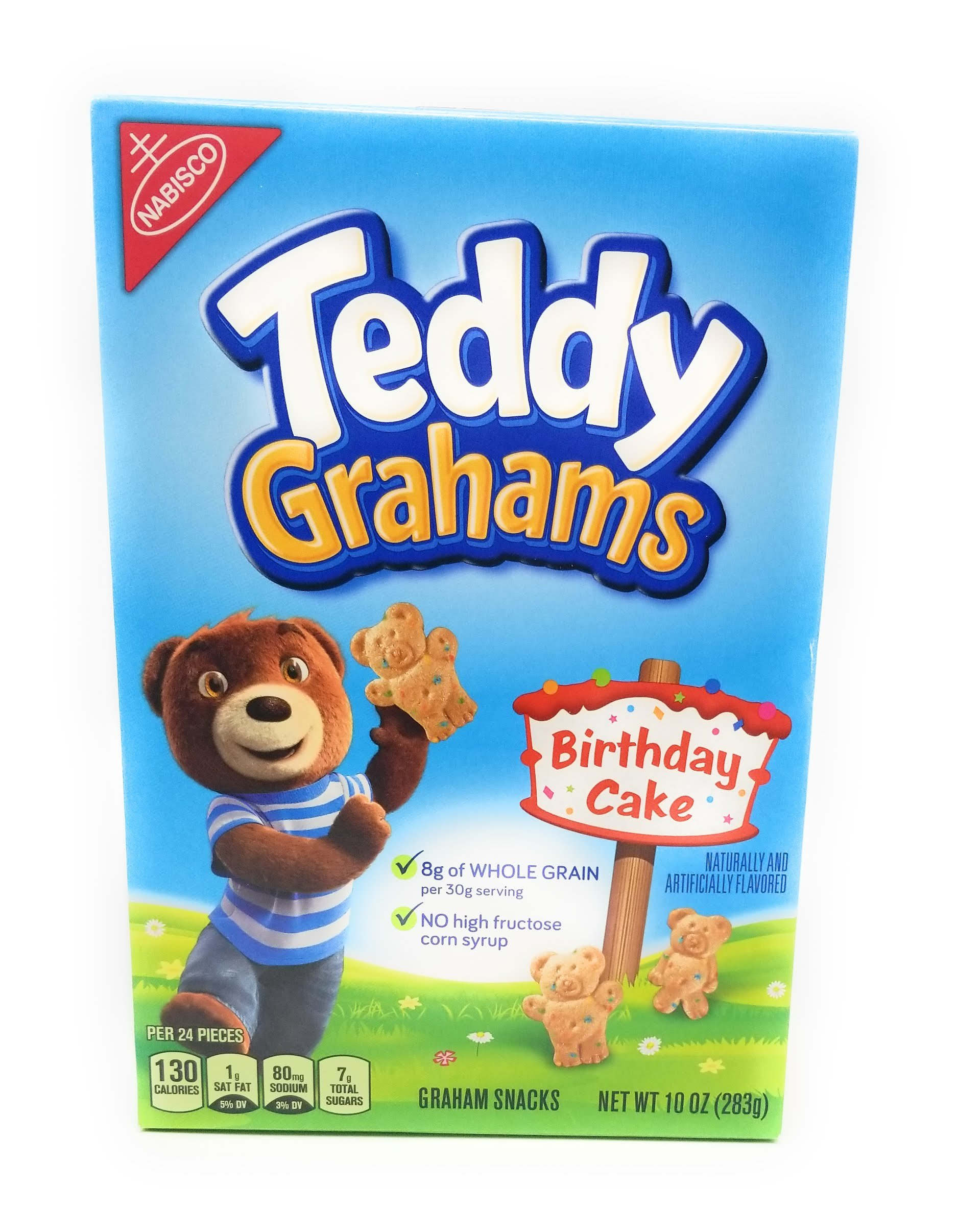 Nabisco Honey Maid Teddy Grahams - Birthday Cake Graham Cracker Snacks - (2) 10oz Boxes