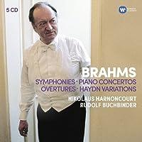 Brahms: Symphonies, Overtures; Haydn: Variations, Piano Concertos