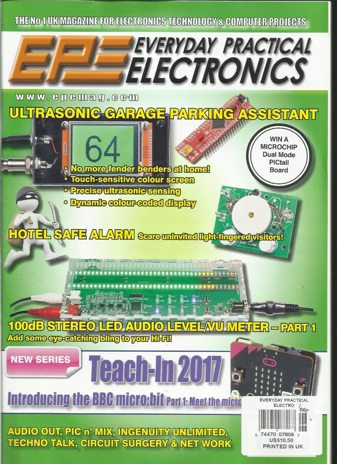 EPE EVERYDAY PRACTICAL ELECTRONICS, JUNE, 2017 VOL. 46 NO.6 PRINTED UK by Generic (Image #1)