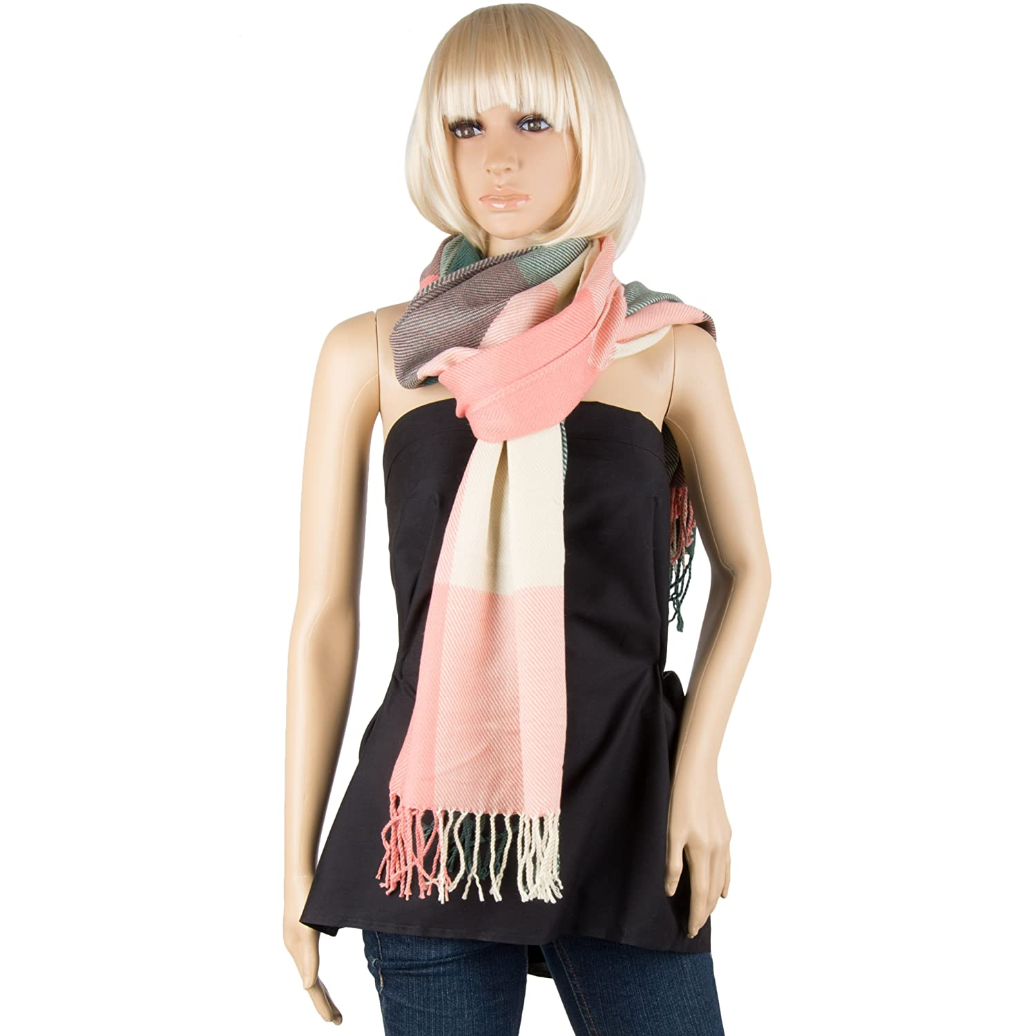 Aerusi Girls Camouflage Winter Scarves