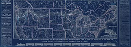 Amazon vintography 18 x 24 blueprint style reproduced old map vintography 18 x 24 blueprint style reproduced old map 1883new correct map the lines the northern malvernweather Images