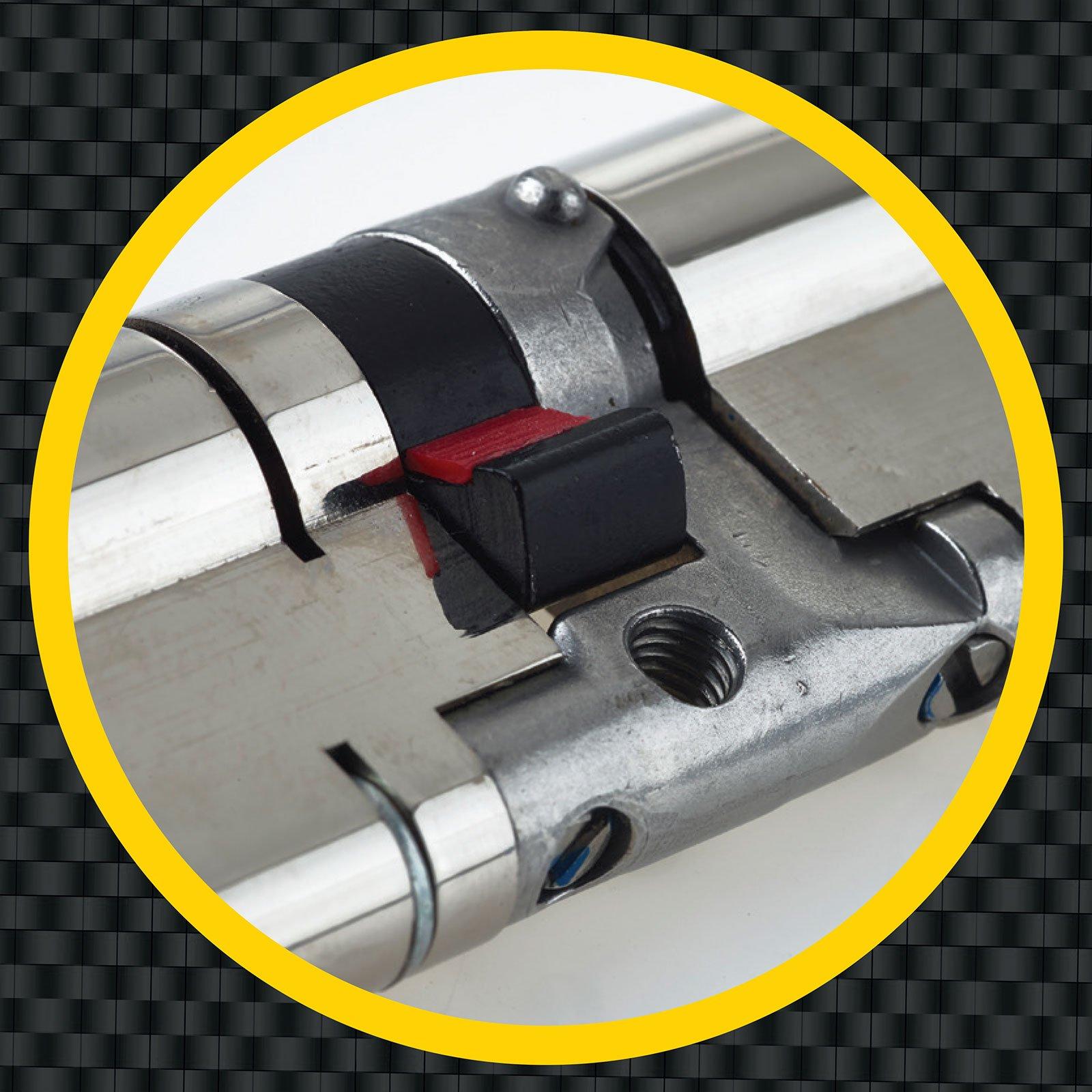 3 Extra Keys 45//55 Brass YALE Platinum 3 Star Euro Cylinder Anti Snap Bump High Security uPVC Door Barrel TS2007:2013 Lock 100mm 6 total