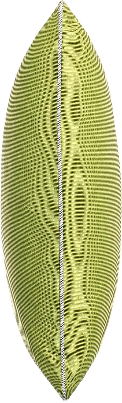 resistente alla sporcizia e impermeabile verde mela da giardino Singolo tessuto con chiusura lampo in tinta unita Cuscino da esterno dimensioni: 45 x 45 cm. decorativo con imbottitura