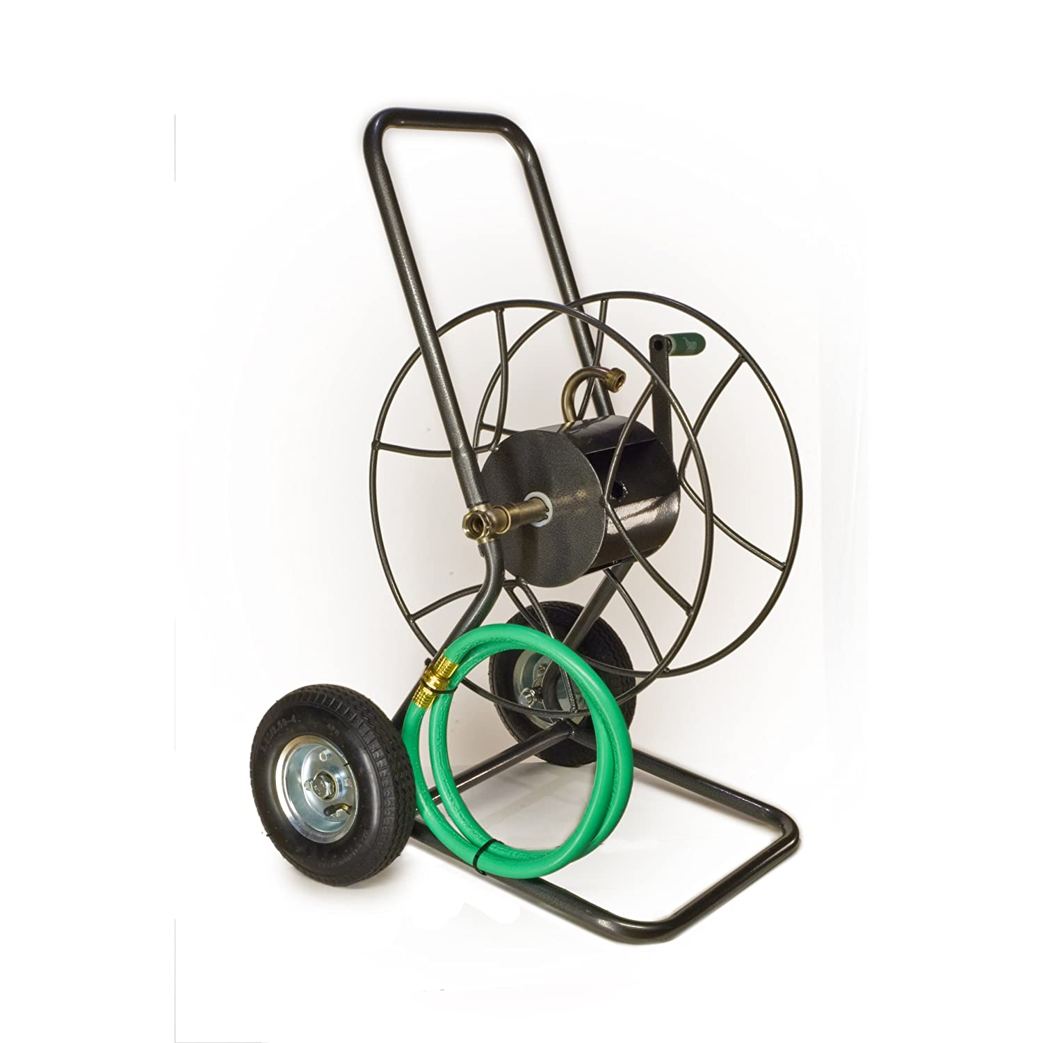 Yard Butler HT-2EZ 2-Wheeled Garden Hose Truck with 175-Foot Hose Capacity