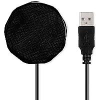 Microfone, Andoer Microfone condensador USB Microfone de computador de mesa omnidirecional Captador de som 360 ° para…