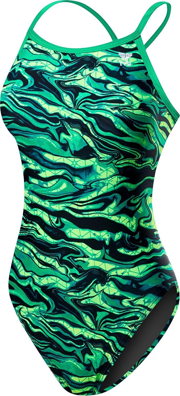 b18c65b927 Amazon.com : TYR Women's Miramar Diamondfit Swimsuit : Clothing