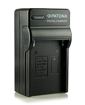 Patona - Cargador tipo NP-F970/NPF970 con 3 clavijas, compatible con videocámara Sony CCD-TR/CCD-TRV/DCR-TR/DCS-CD, etc.