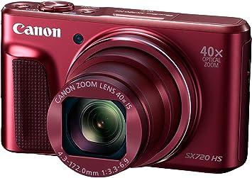 Canon powershot sx hs digitalkamera zoll rot amazon kamera