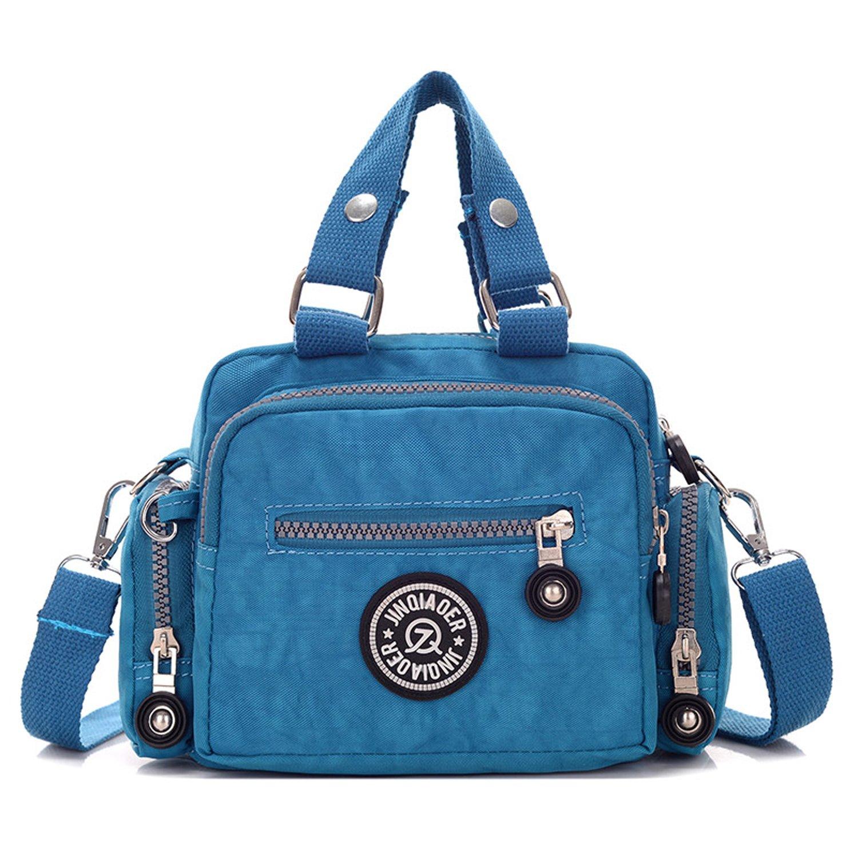 MeCooler Damen Taschen Umhängetasche Designer Sporttasche Kuriertasche Mädchen Handtasche Messenger Bag Schultertasche für Strandtasche Wasserfeste Reisetasche
