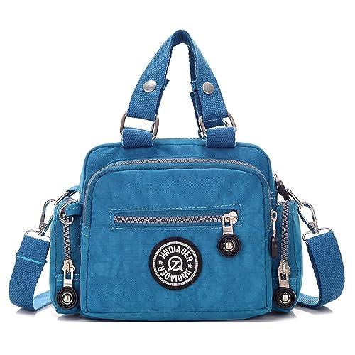 Foino Bolsos de Mano Impermeable Bolso Bandolera Mujer Bolsas de Viaje Bolsos Baratos Cartera Ligero Bolsos de Moda Messenger Bag para Sport: Amazon.es: ...