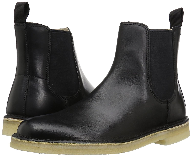 f74a9fcfea9 Clarks Men's Desert Peak Chelsea Boots Black