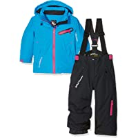 Peak Mountain Fastec Conjunto de esquí para niña
