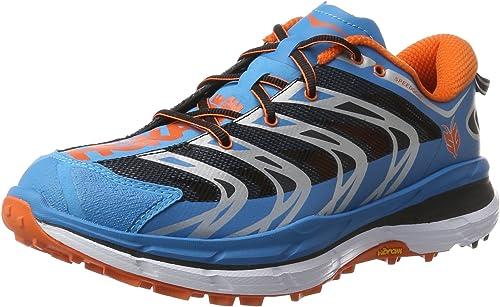 Hoka One One Speedgoat, Zapatillas de Running para Asfalto para Hombre, Azul/Rojo (Red Orange), 42 EU: Amazon.es: Zapatos y complementos