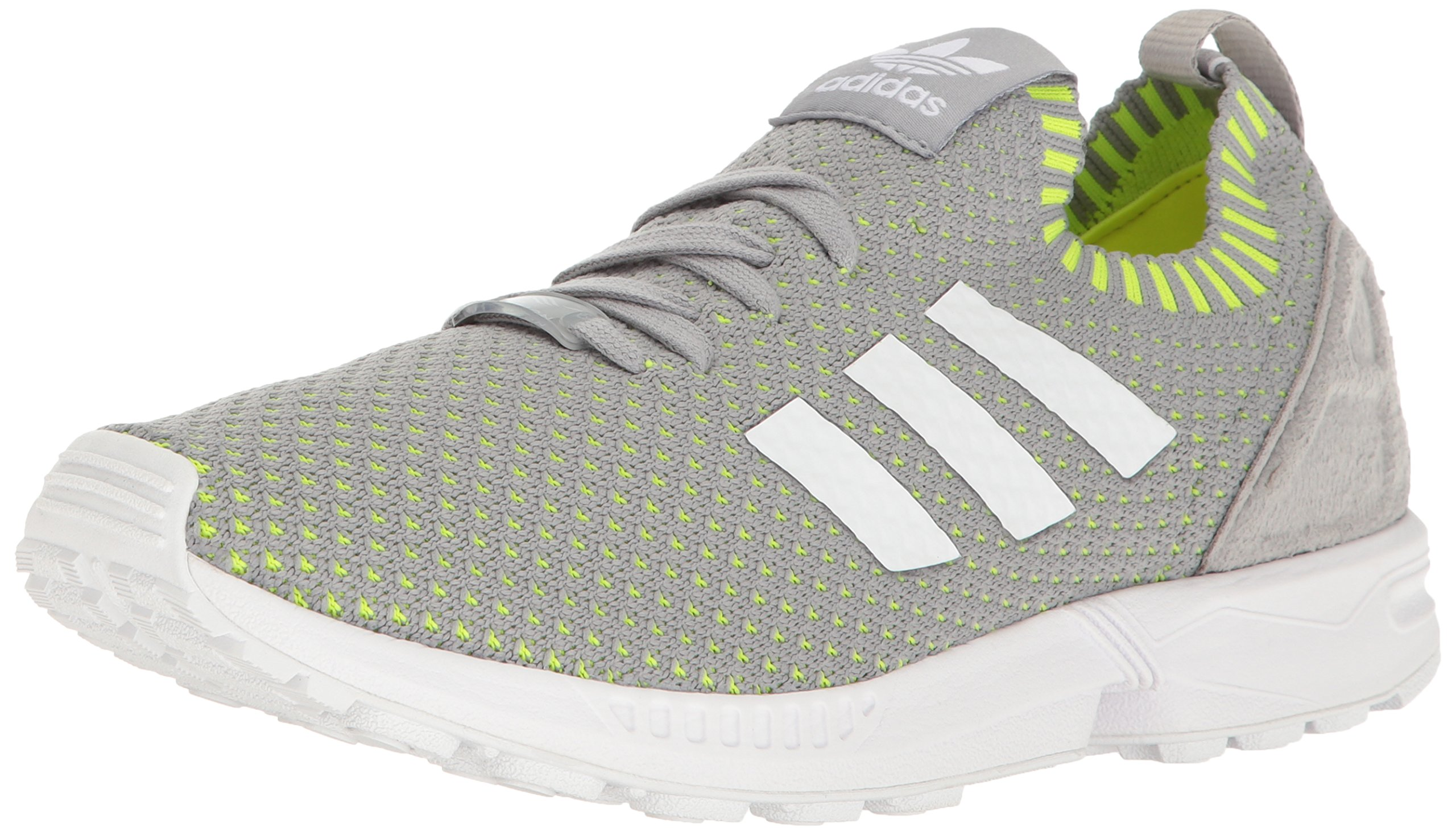 huge selection of 54e69 0b1f0 adidas Originals Men's Shoes   Zx Flux Pk Fashion Sneakers, Mid Grey  White/Electricity, ((4 M US)