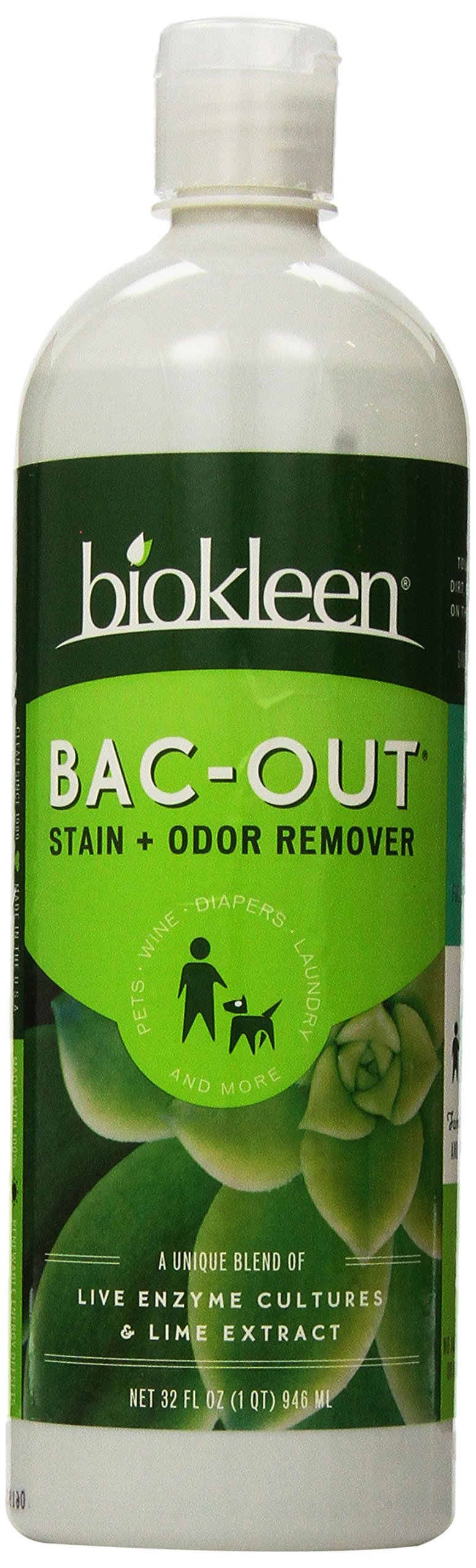 Biokleen Bac-Out Stain+Odor Remover, 32 oz