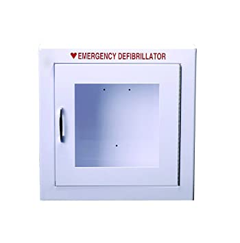 Amazon.com: AED Wall Cabinet Fits All AED Units Surface Mount ...
