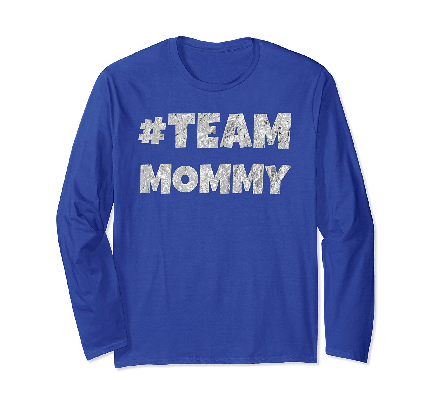 #Team Mommy Vintage Mothers Day Cute Mums Long Sleeve Gift-alottee gift
