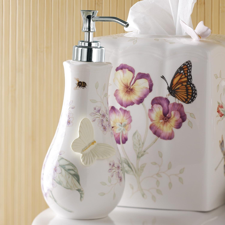 Amazon lenox butterfly meadow lotion dispenser home kitchen reviewsmspy