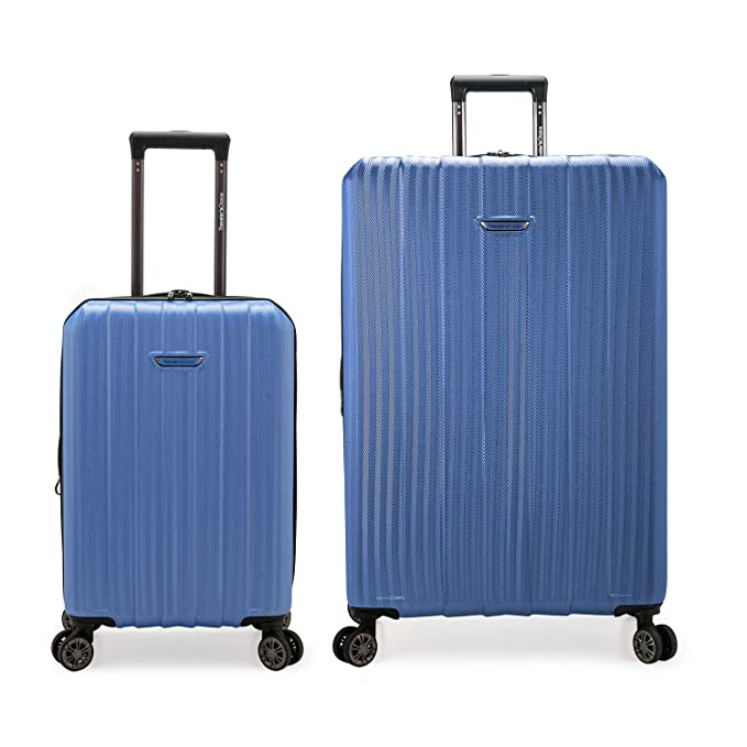 Travelers Choice Dana Point Expandable Hardshell Set with USB Port