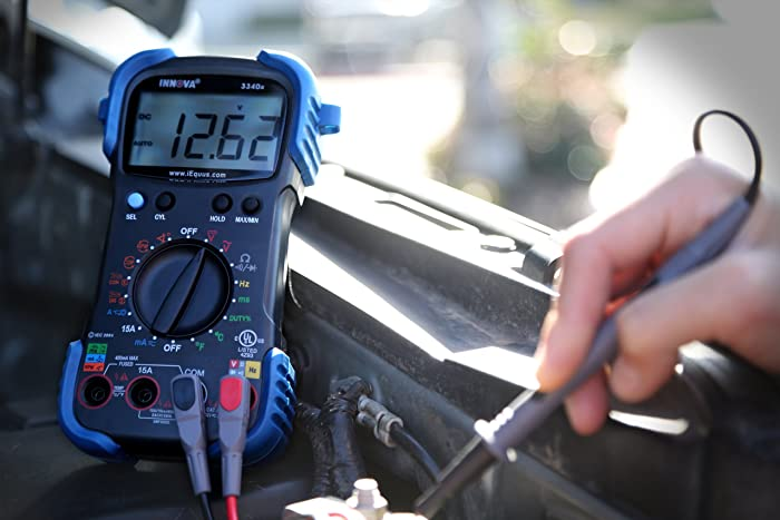 The INNOVA 3340 automotive multimeter is best suited for troubleshooting automotive problems and electrical problems at home