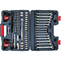 Crescent Professional 128-Pieces Standard SAE/Metric Mechanics Tool Set