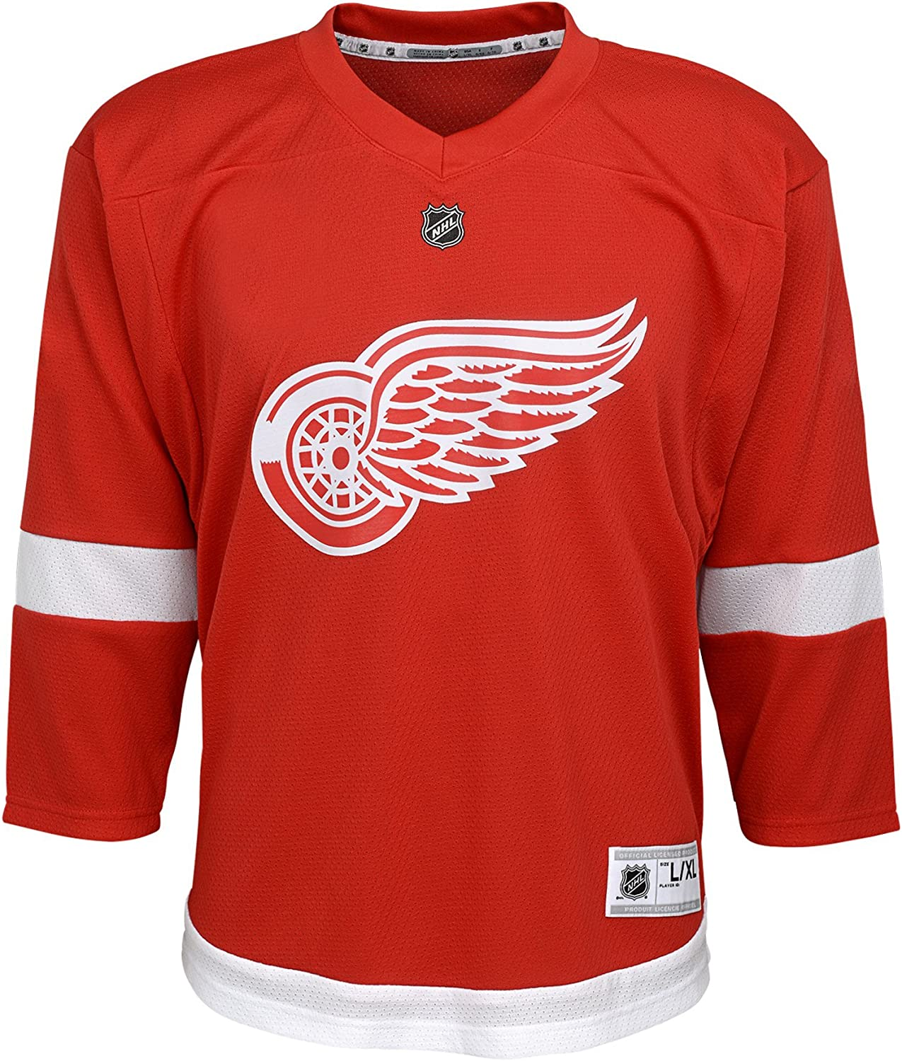 NHL Youth Detroit Red Wings Premier Home Jersey