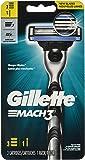 Gillette Mach3 Men's Razor (1 Handle + 3 Blade Refills), 3 Count