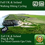 Full Great Britain UK Ireland Topo Map For Garmin Etrex 20. Etrex 30x Touch. Etrex 35. - Original only by mapmanGPS