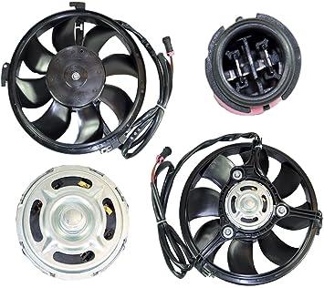 D2P para Seat Alhambra (1996 - 2010) Radiador de refrigeración Ventilador Motor 97 vw15150da, 8d0959455 C: Amazon.es: Coche y moto