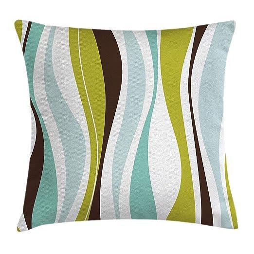 FAVIBES Funda De Cojín Vintage Throw Pillow Funda De ...
