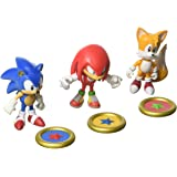 TOMY - T22050 - Sonic Collector - Pack de 3 Figurines