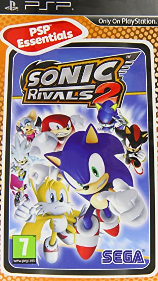 Amazon Com Sonic Rivals 2 Psp Uk Edition Electronics