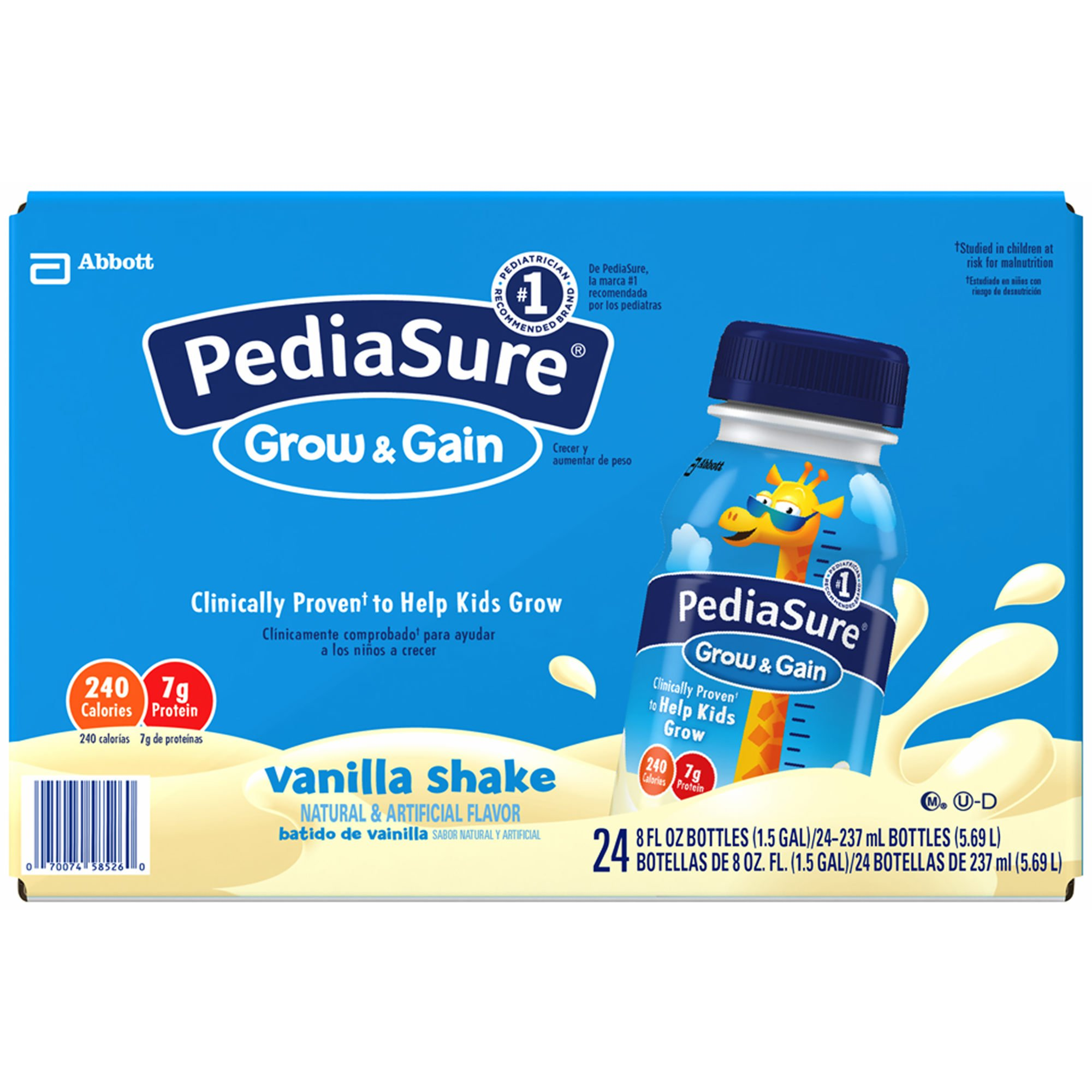 PediaSure Vanilla Shake, 24 pk./8 oz. (pack of 6) by Pediasure (Image #1)