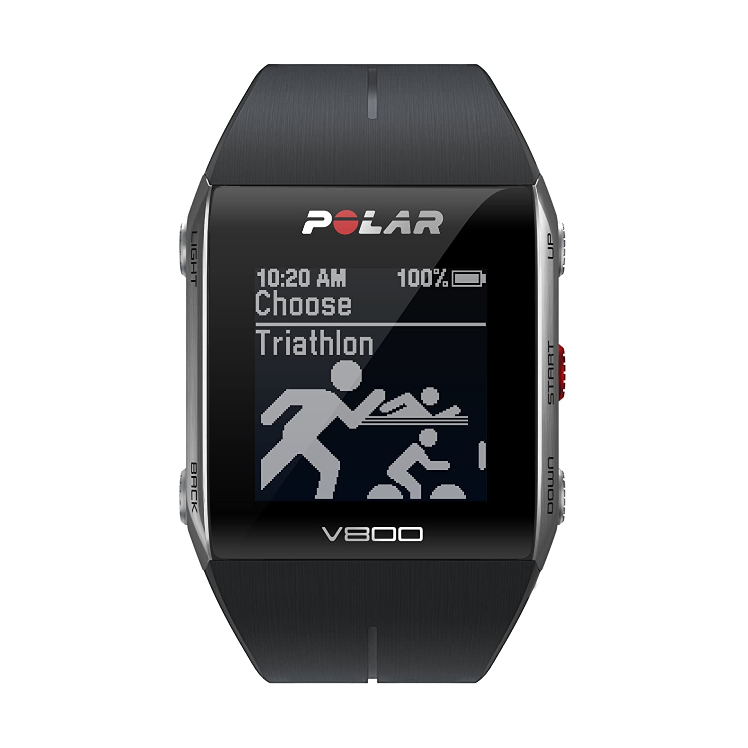 Amazon.com : Polar V800 GPS Sports Watch with Heart Rate ...