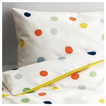 Ikea Baby Bettwäsche Garnitur Punkte Drömland 2 Teilig Amazonde