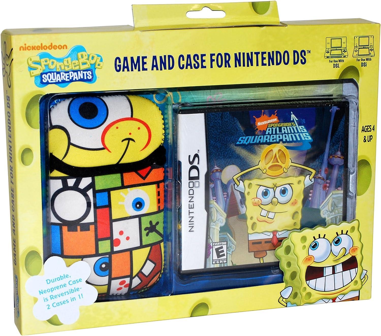 amazon com spongebob atlantis squarepantis nds game and sakar nds