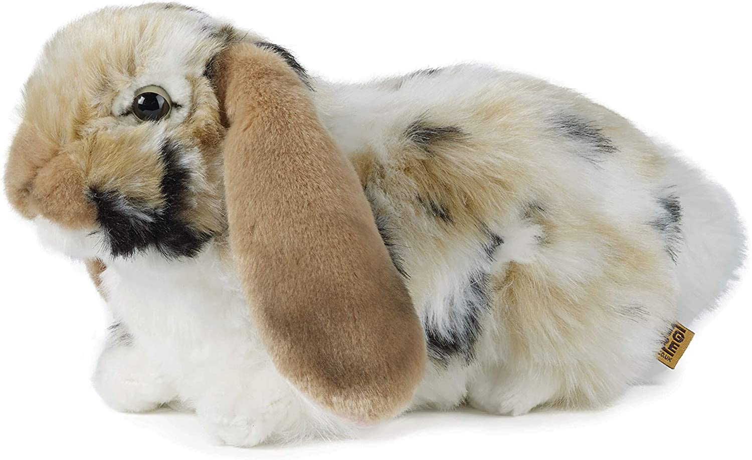 Grey by Living Nature Living Nature British Wildlife Dutch Lop Ear Rabbit Soft Toy