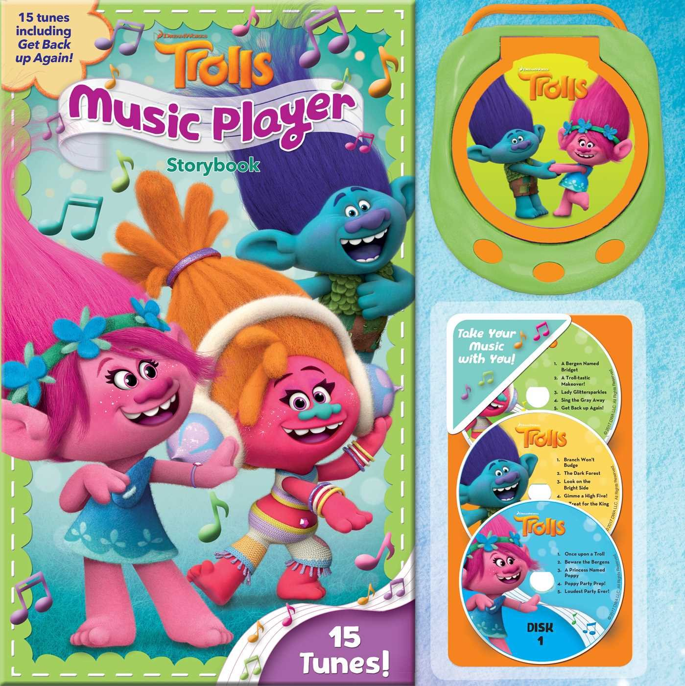 88b6a3d02c4f DreamWorks Trolls Music Player Storybook Hardcover – October 3