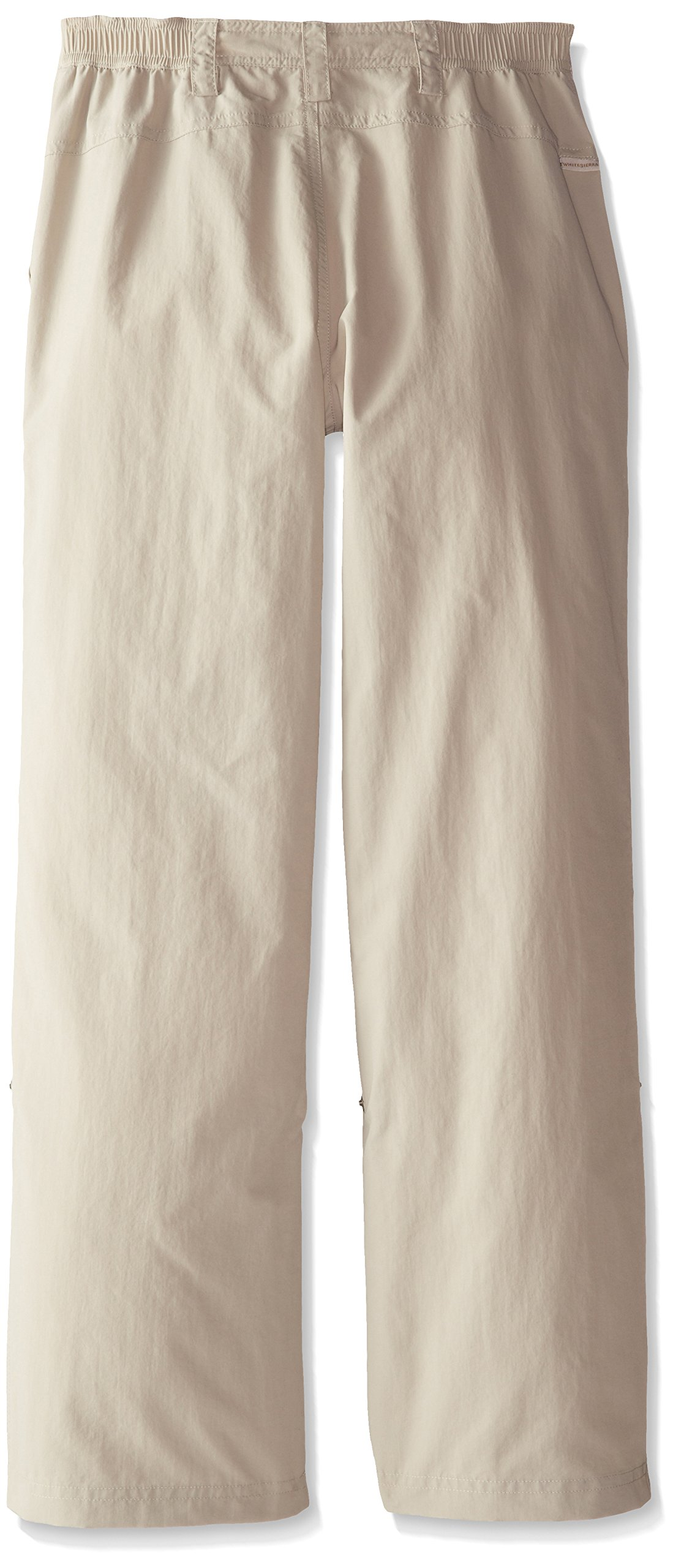 White Sierra Girls Trail Roll-Up Pant, Stone, Small by White Sierra (Image #2)