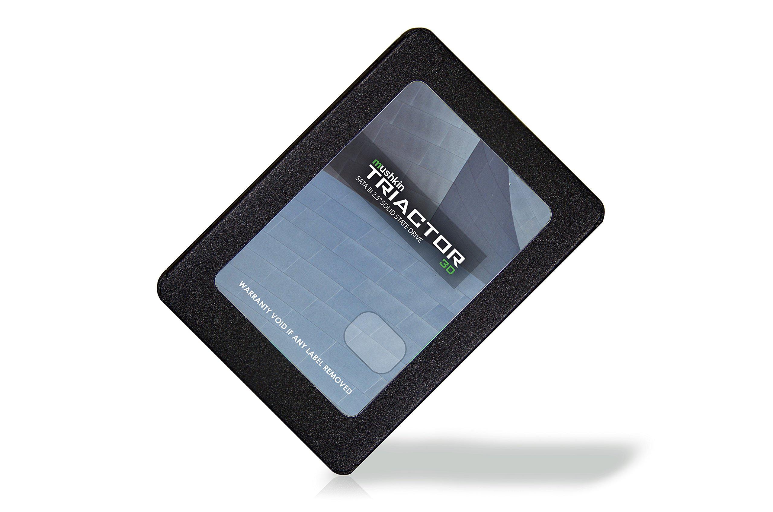 Mushkin TRIACTOR-3DL - 120GB Internal Solid State Drive (SSD) - 2.5 Inch - SATA III - 6Gb/s - 3D Vertical TLC - 7mm (MKNSSDTR120GB-3DL) by Mushkin (Image #2)