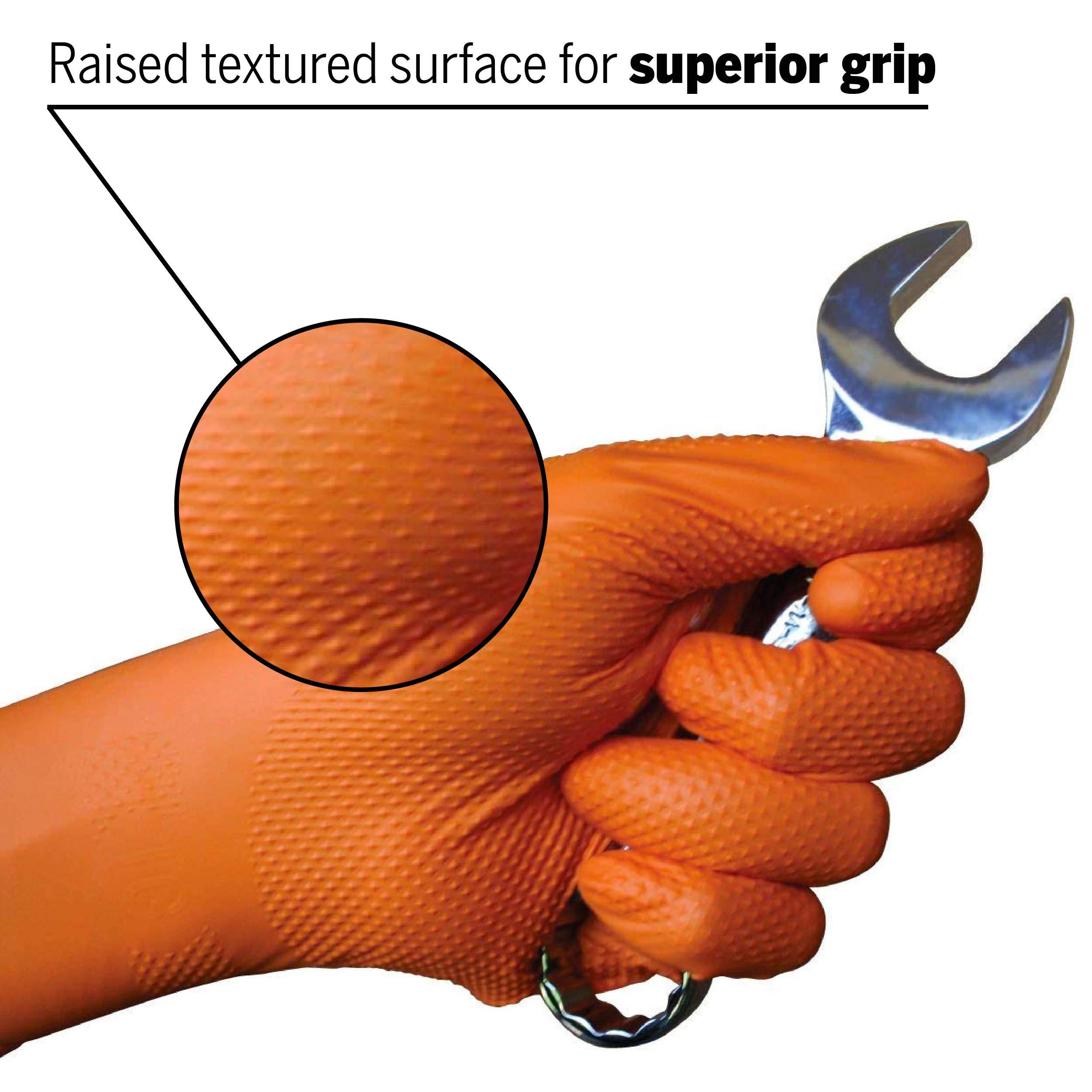 Tiger Grip Nitrile Gloves (X-Large, Case of 900) by EPPCO Enterprises (Image #2)